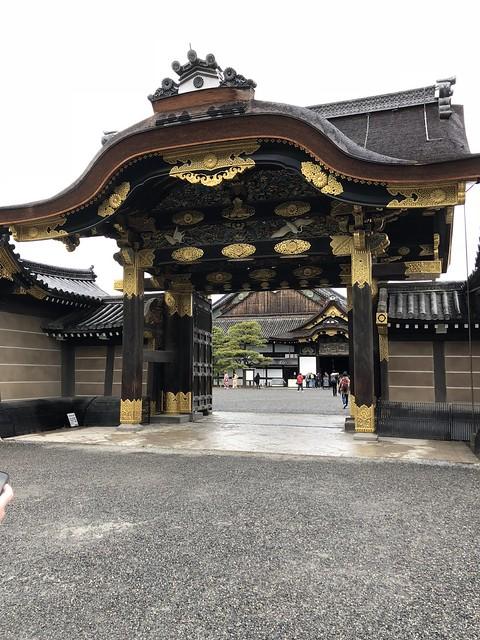 Entrance to Nijo Castle