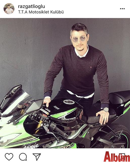 Tümay Razgatlıoğlu, T.T.A Motosiklet Kulübü'nden paylaştığı bu fotoğrafla kısa sürede yüzlerce beğeni aldı.