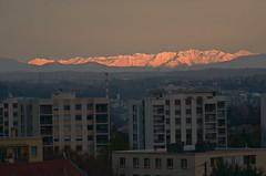 massif des écrins (from Lyon)