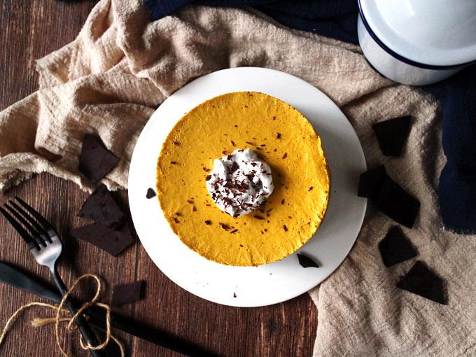 全素免烤南瓜派 (無麵粉) vegan-no-bake-pumpkin-pie (1)