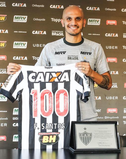 Fábio Santos 100 jogos