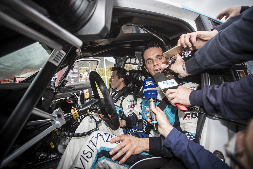 07 MOURA Ricardo (prt), COSTA Antonio (prt), FORD FIESTA R5, portrait during the 2018 European Rally Championship ERC Azores rally,  from March 22 to 24, at Ponta Delgada Portugal - Photo Gregory Lenormand / DPPI