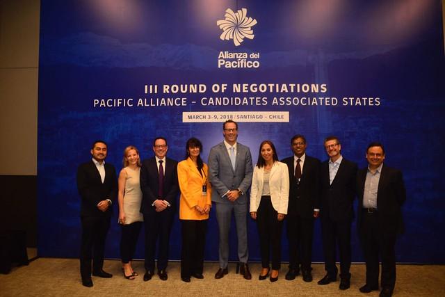 III Ronda de negociación Alianza del Pacífico y Estados Asociados