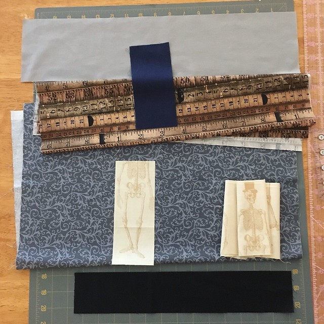 House block - finding the right fabrics