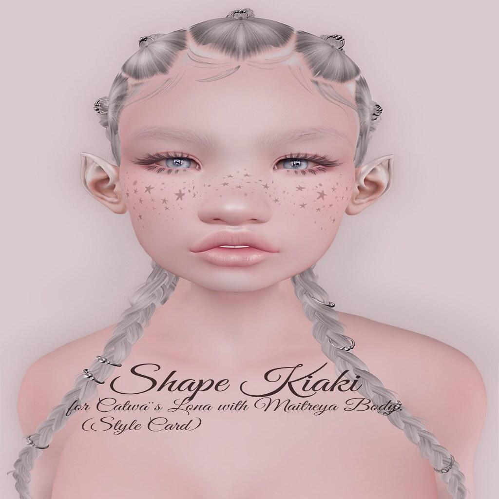 Boho Pink Shape Kiaki Style card - TeleportHub.com Live!