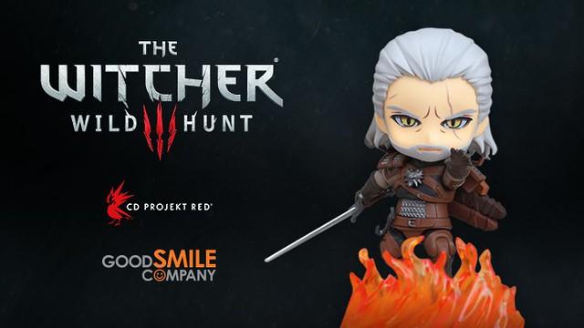 黏土人《巫師 3:狂獵》利維亞的傑洛特 ねんどろいど ゲラルト(Geralt of Rivia)商品化決定!