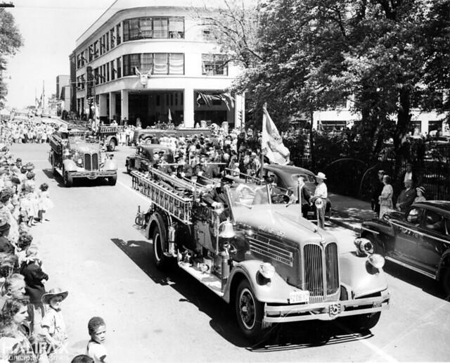 Natal Day parade, [1950s]