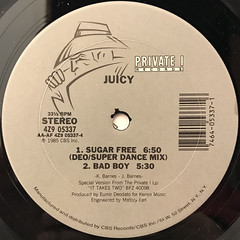 JUICY:SUGAR FEEE(LABEL SIDE-B)