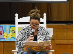 "Rep. Ziobron reads 'Oh the Places You'll Go"" to 3rd graders at East Hampton Memorial School"