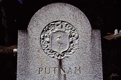 Putnam Headstone - Kodachrome