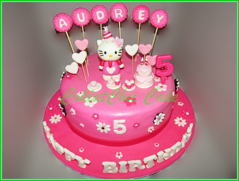 Cake Hello Kitty AUDREY 24 cm