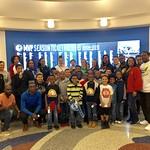 Stockton Youth Basketball Team Day at Dallas Mavericks with AZAR