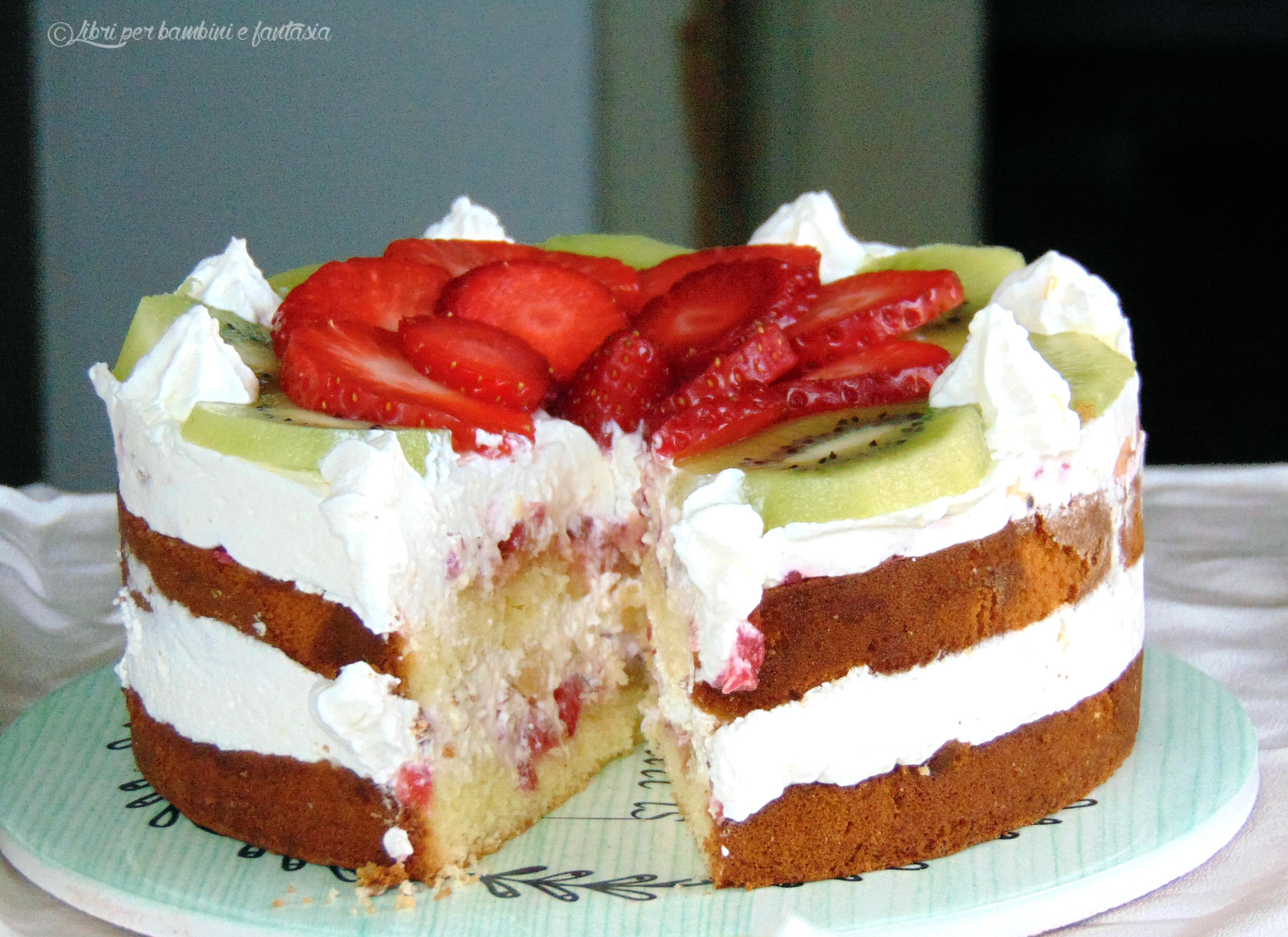 torta frutta e ricotta 1