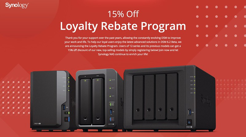Synology Loyalty Rebate Program in Singapore