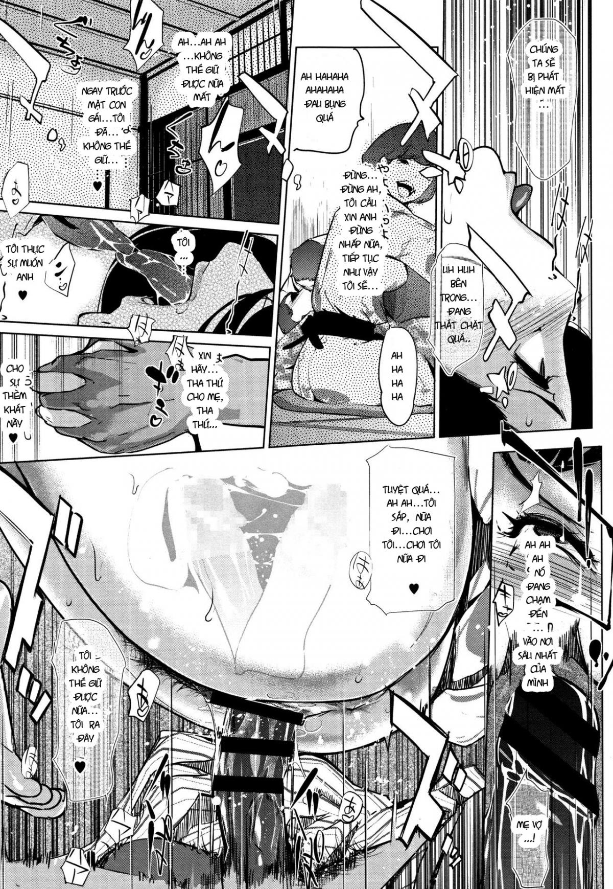 HentaiVN.net - Ảnh 19 - Shinjuiro no Zanzou - Pearl Grey Afterimage; Shinjuiro No Zanzou ~Kazoku Ga Neshizumatta Ato De~ - Chap 4