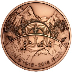 CNIB Bronze Medallion Reverse