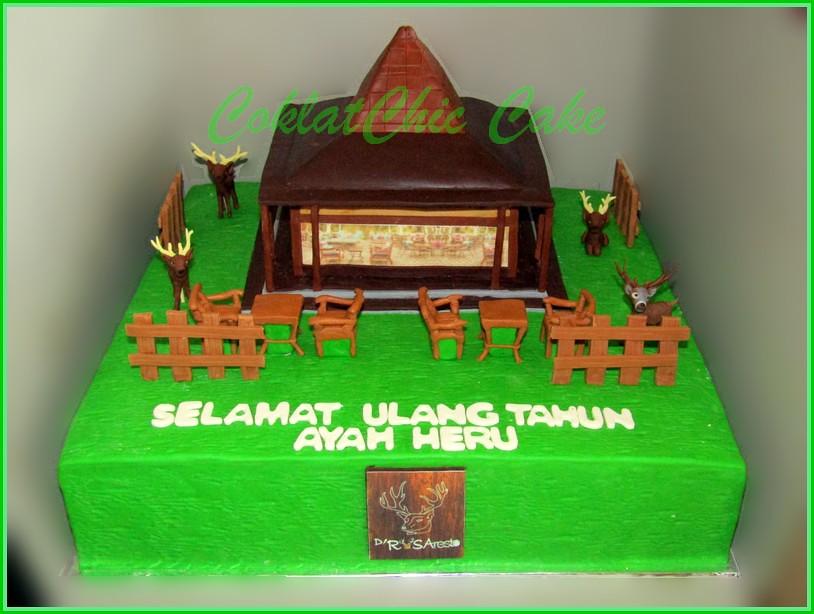 Cake Pendopo The Rusa Resto AYAH HERU 40 cm