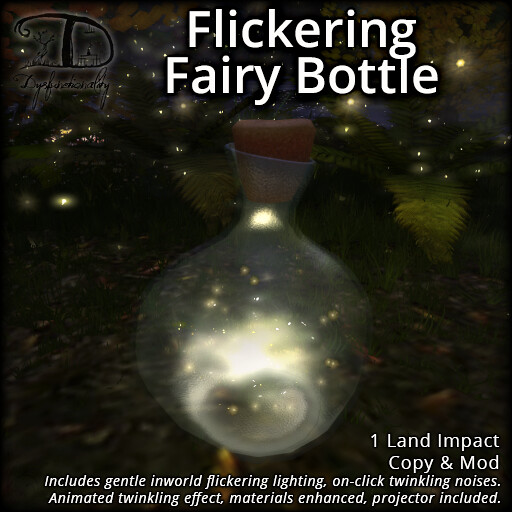 Flickering Fairy Bottle - TeleportHub.com Live!