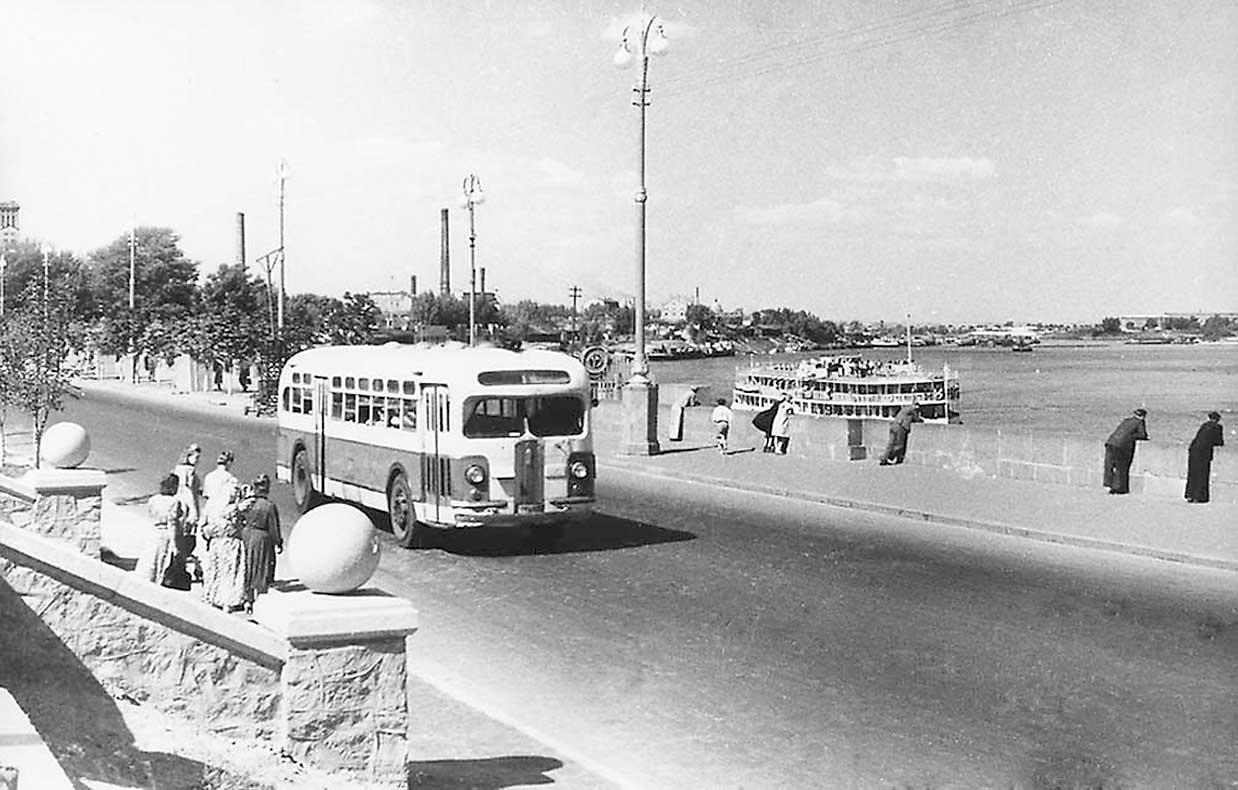 Набережная Днепра, 1953 год