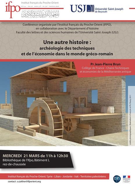 Une autre histoire : archéologie des techniques et de l'économie dans le monde gréco-romain
