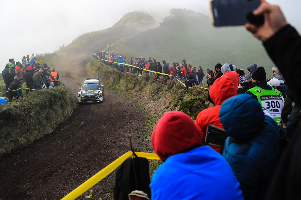 29 TEODOSIO Ricardo (prt), TEIXEIRA Jose (prt), SKODA FABIA R5, action during the 2018 European Rally Championship ERC Azores rally,  from March 22 to 24, at Ponta Delgada Portugal - Photo Jorge Cunha / DPPI