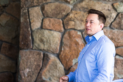 Tesla and SpaceX CEO, and Solar City Chairman, Elon Musk, Sun Valley Idaho, Allen & Company Conference, July 2015