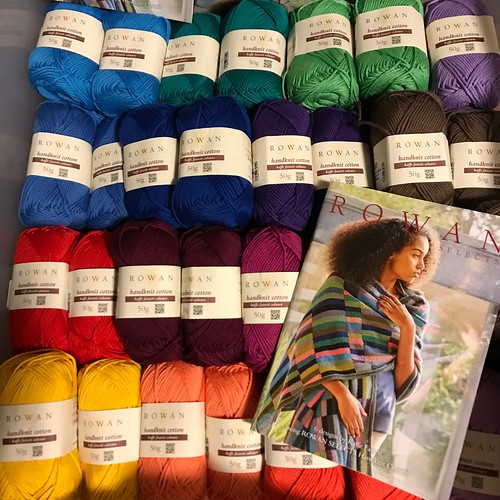 Rowan Selects Limited Edition Handknit Cotton -  Kaffe Fassett Colours and complimentary pattern book with purchase.