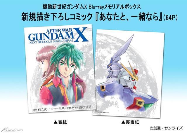 《機動新世紀鋼彈X》Blu-ray Memorial Box 新情報公開,鋼彈X 3號機(ガンダムX3号機) 鋼普拉化決定!