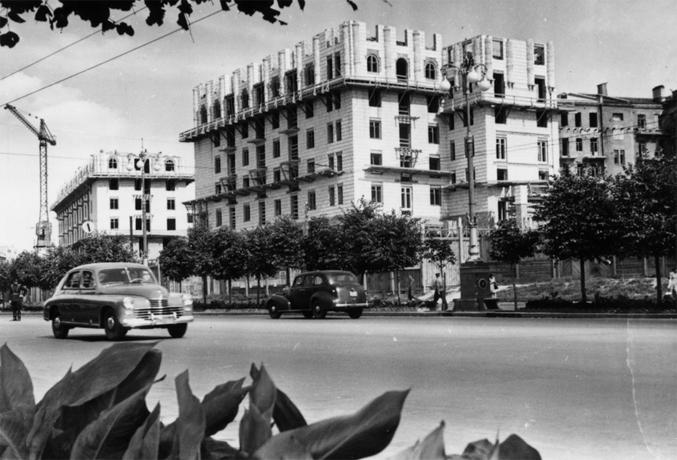 ул. Крещатик, 1950-ый год