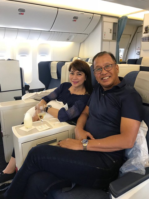 PAL flight to London,  March 11, 2018