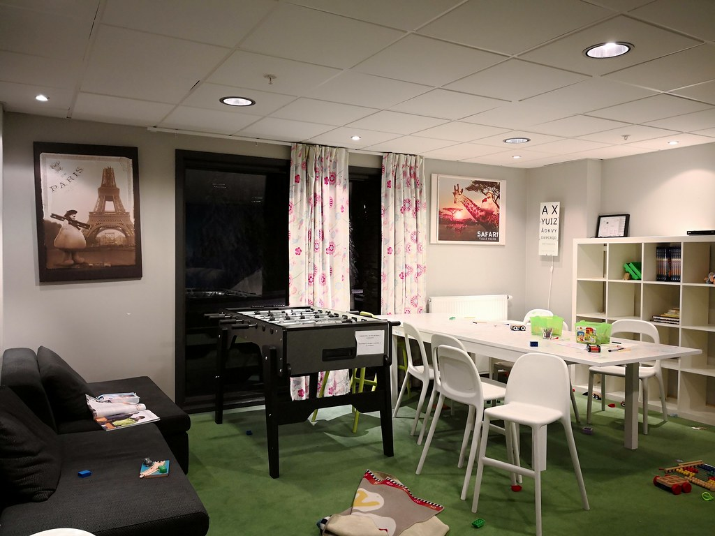 Games and activity room