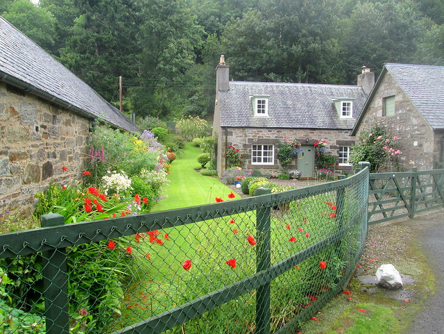A Fortingall house