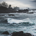 20. Oktoober 2017 - 10:28 - Storm watching, Great Pacific Northwest style.  Ucluelet, Vancouver Island, Canada.