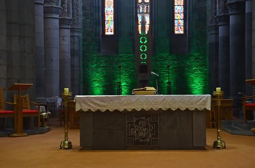 Der prächtige Altar von St. Maria in Killarney