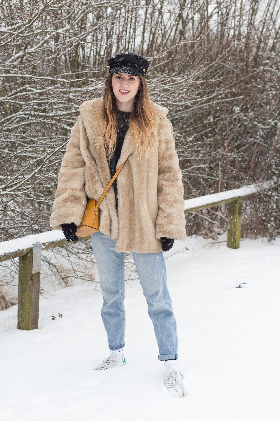Fur Coat Snow-18