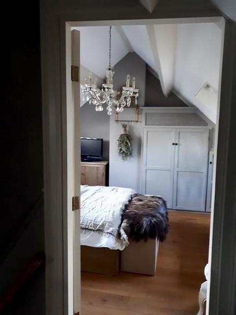 Kroonluchter slaapkamer