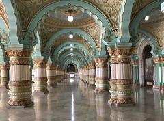 India (Mysore) Public Darbar hall  of Mysuru Palace1
