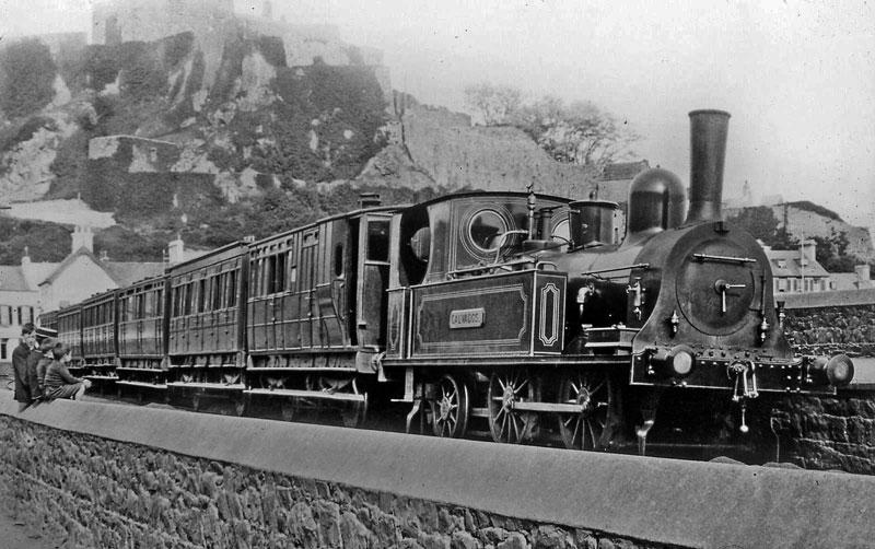 Jersey Eastern Railway locomotive 1833, Calvados.