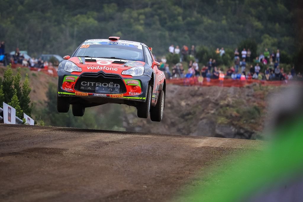 30 FONTES Jose Pedro (prt), BABO Paulo (prt), CITROEN VODAFONE TEAM, CITROEN DS3 R5, action during the 2018 European Rally Championship ERC Azores rally,  from March 22 to 24, at Ponta Delgada Portugal - Photo Jorge Cunha / DPPI