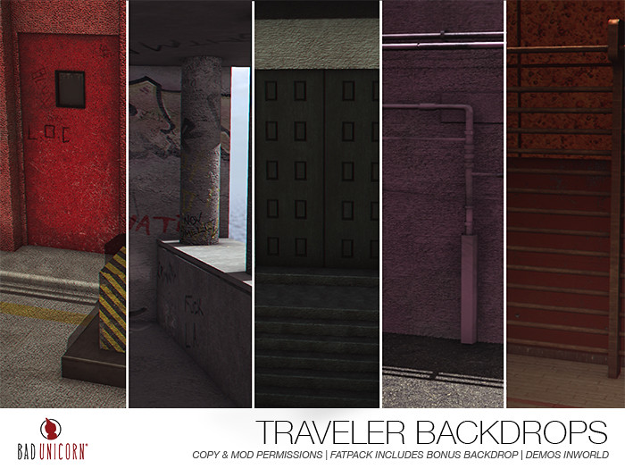 NEW! Traveler Backdrops