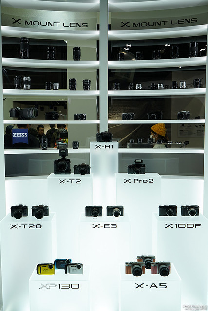【CP+ 2018】Fujifilm X-H1 | 11