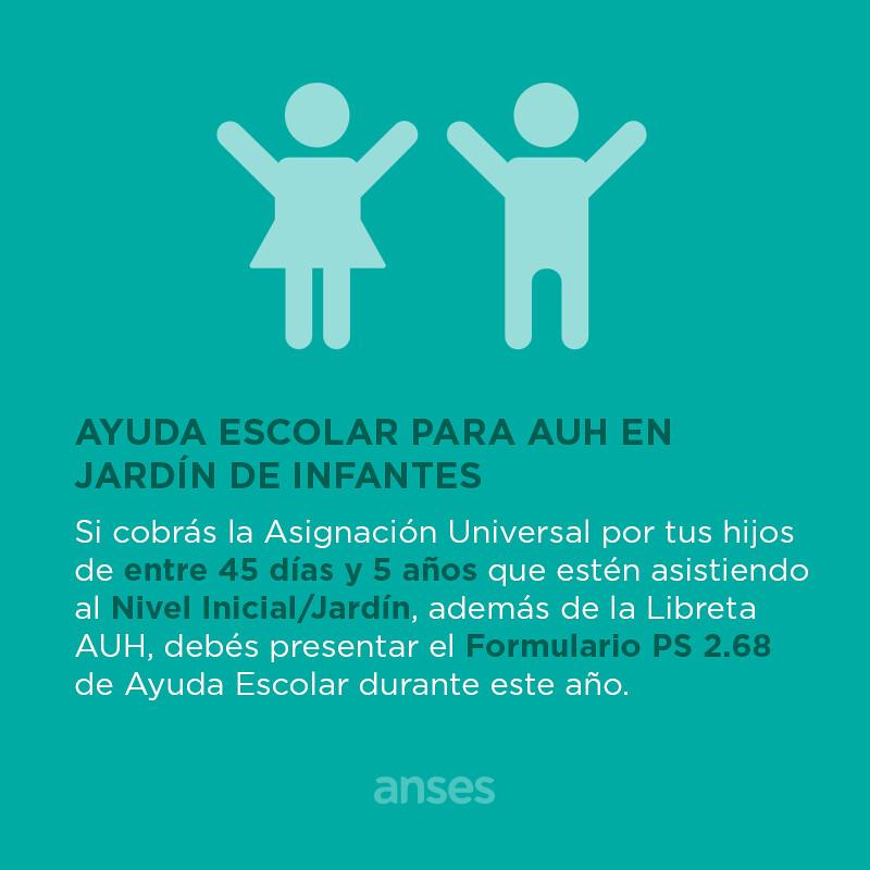 Ayuda Escolar para jardin de infantes