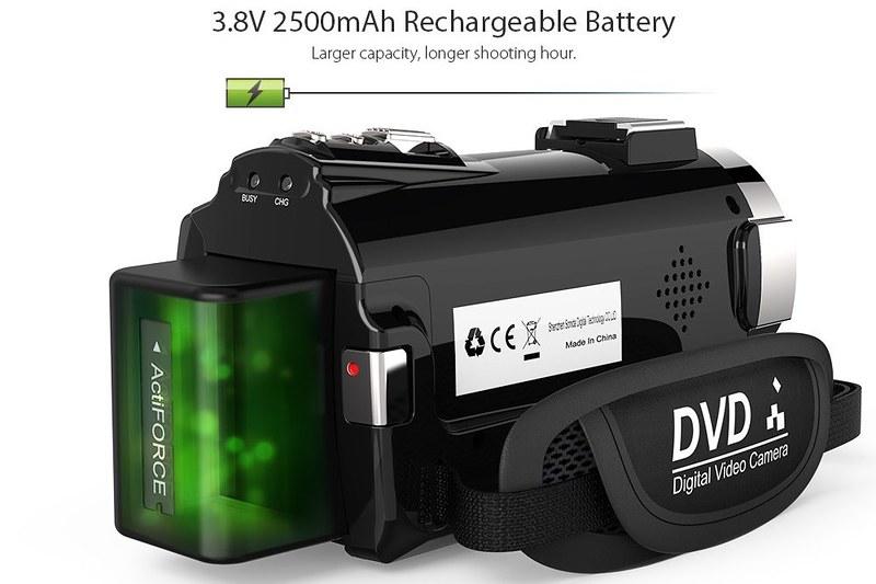 Andoer 4K ビデオカメラ (6)
