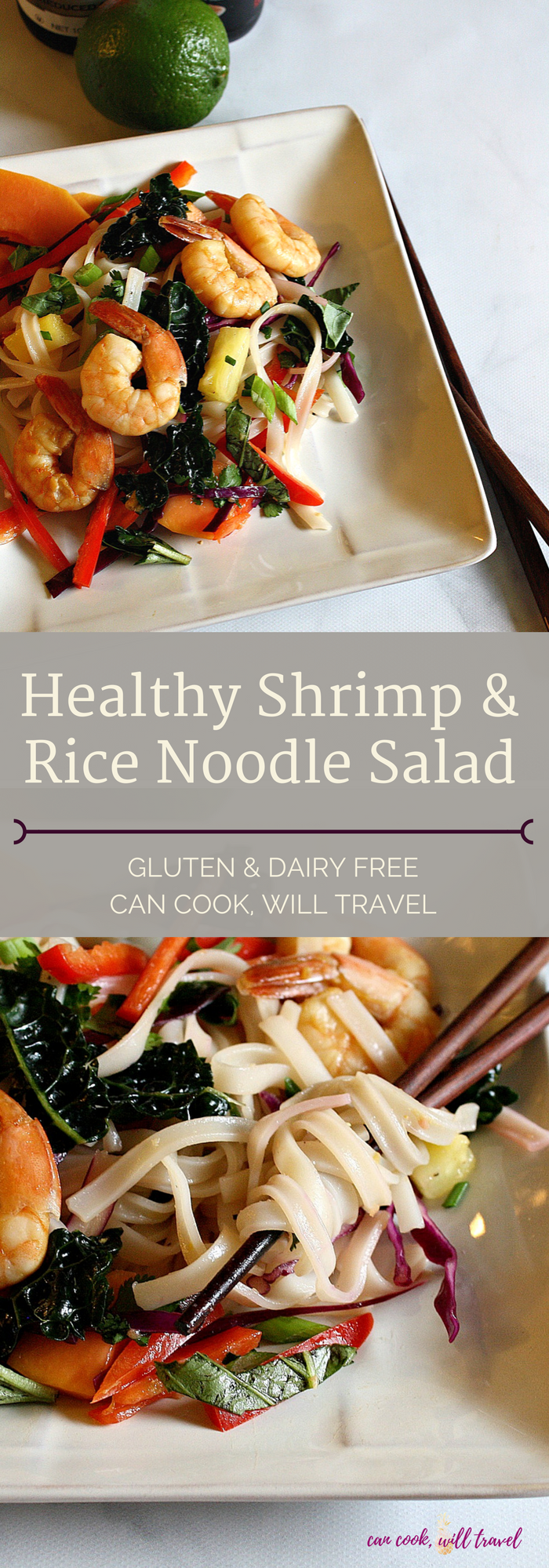 Healthy Shrimp & Rice Noodle Salad_Collage1