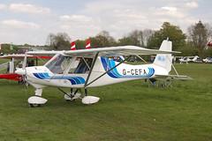 G-CEFA Ikarus Comco C-42 [PFA 322-14570] Popham 020509