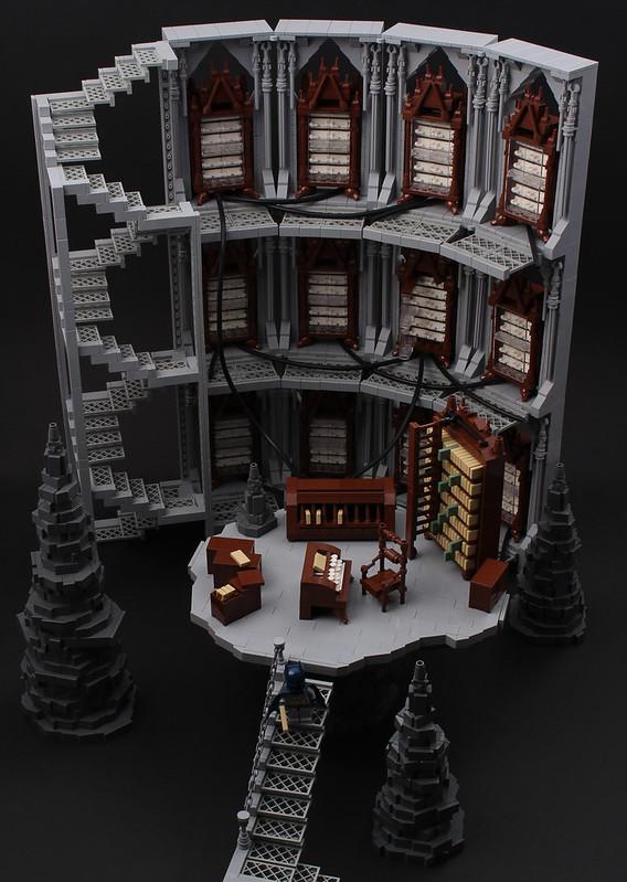 The Batcave - The Batcomputer - LEGO Batman
