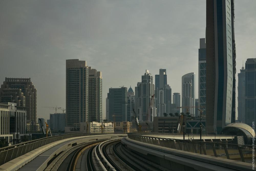 Дубайский метрополитен 1