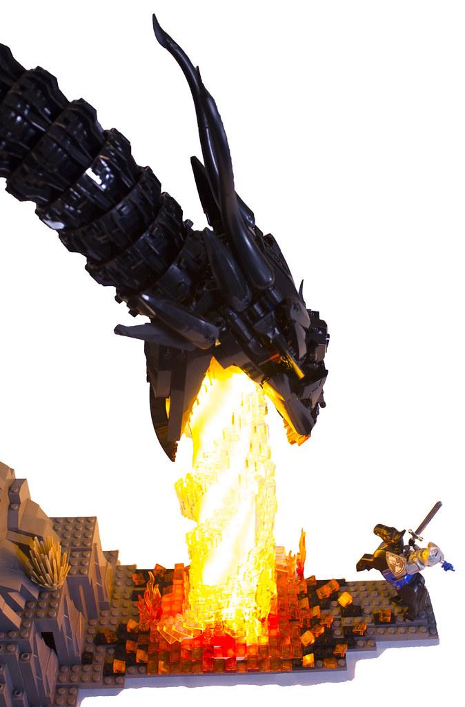 flame fragon lrgo moc