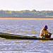DSCN1107 Nativo pescando con sedal, río Orinoco