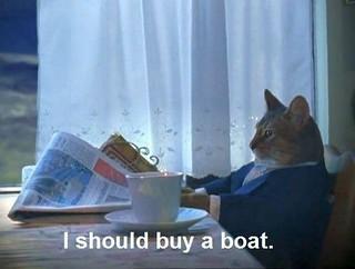 I should buy a boat